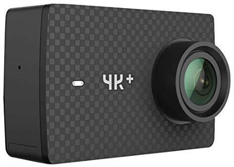 YI 4k+ BK Caméra d'action et de Sport 4K/60fps