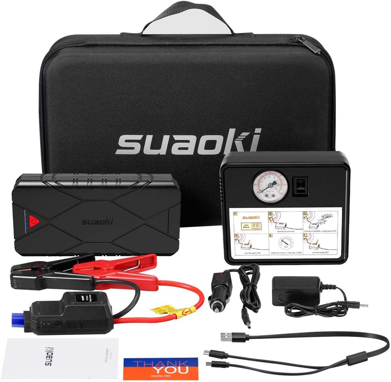 SUAOKI U18 Plus 1200A Booster Batterie