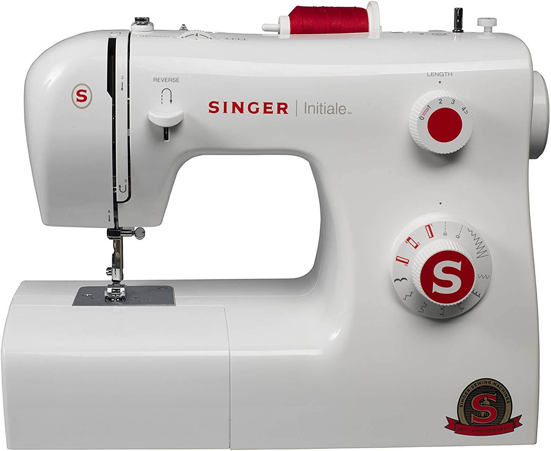Singer Initiale Machine à Coudre Blanche
