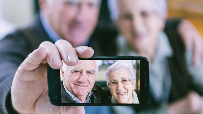 Smartphone Personne Agée