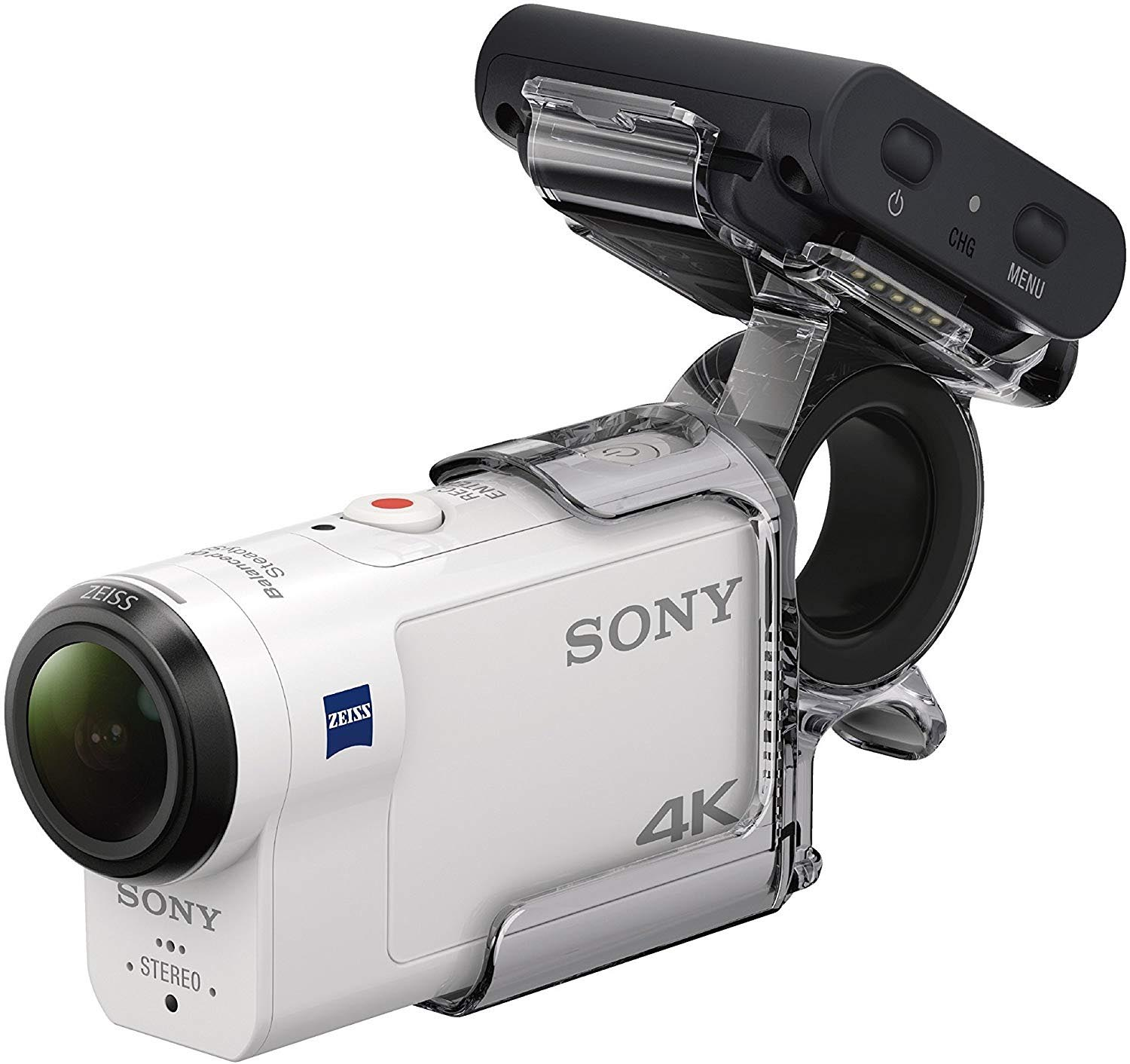 Sony FDR-X3000R + AKA-FGP1 Camera d'action