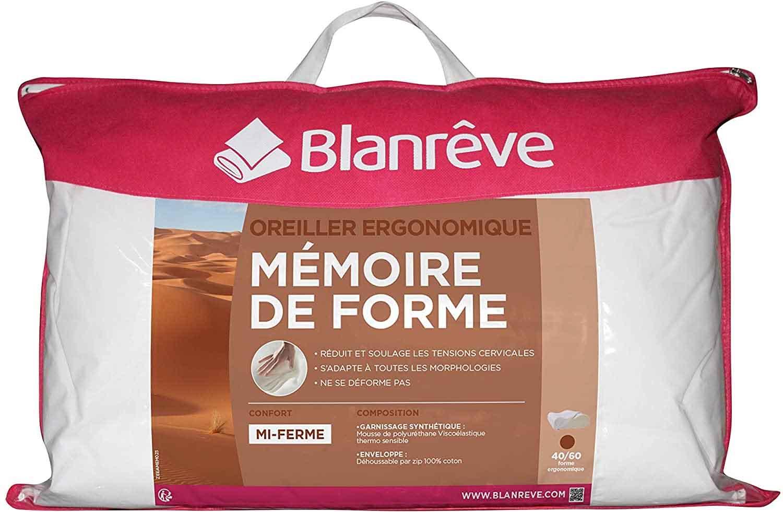 Blanrêve - Oreiller Ergonomique