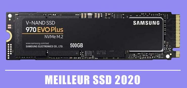 Meilleur SSD 2020