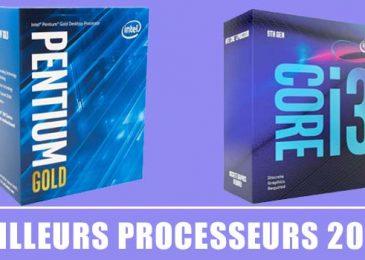 Meilleurs Processeurs 2020 – Guide d'achat et Comparatif