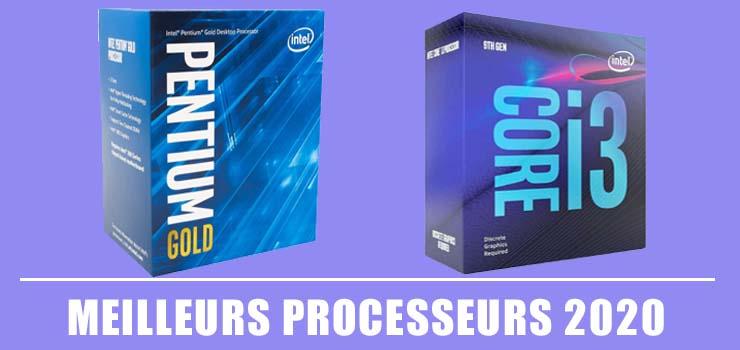 Meilleurs Processeurs 2020