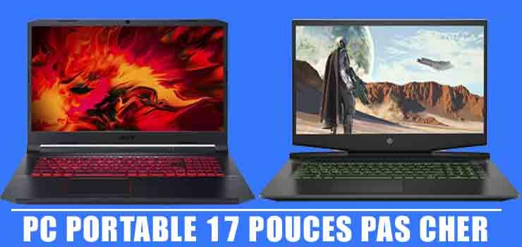 Meilleurs PC portable 17 pouces pas cher